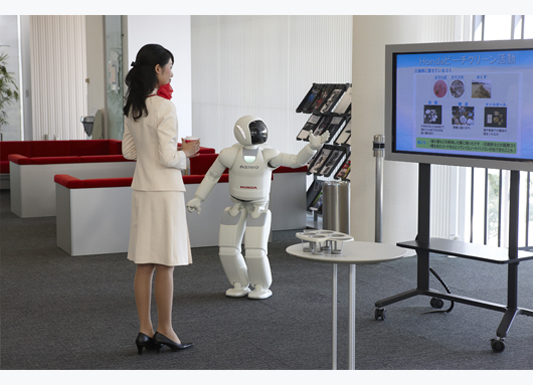 Advanced Step in Innovative Mobility with Asimo