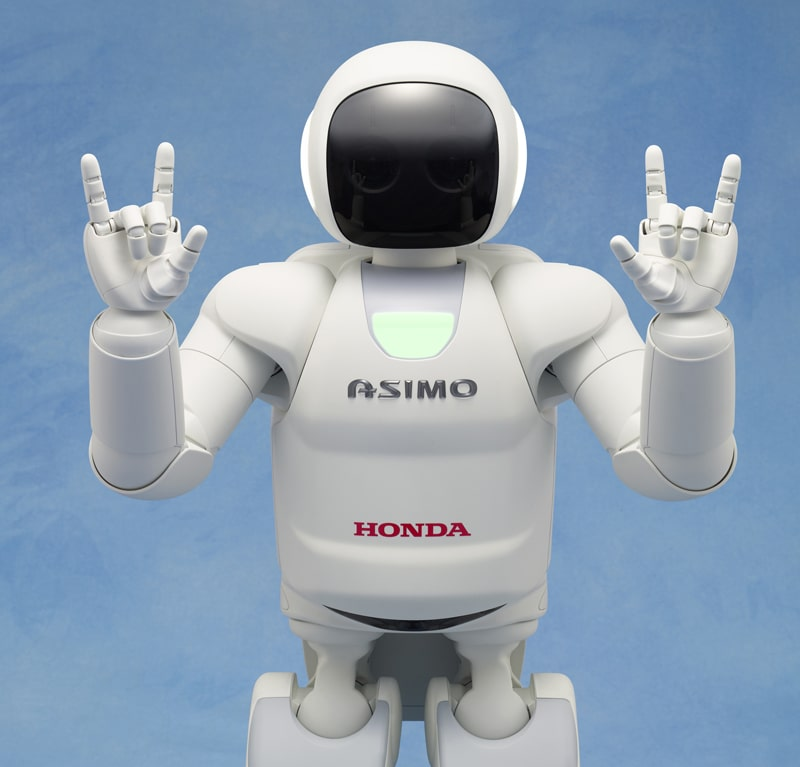 Front View of Asimo