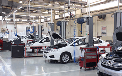 Honda Cars India Infrastructure