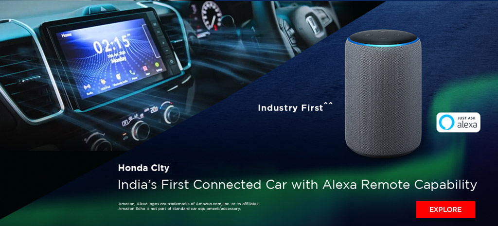 Honda City 2020 - India's First Connected Car with Alexa Remote Capability
