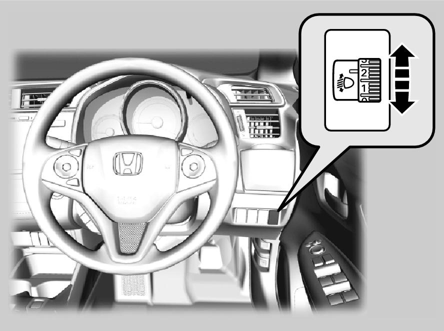 Headlight Adjuster Jazz 2016 Honda