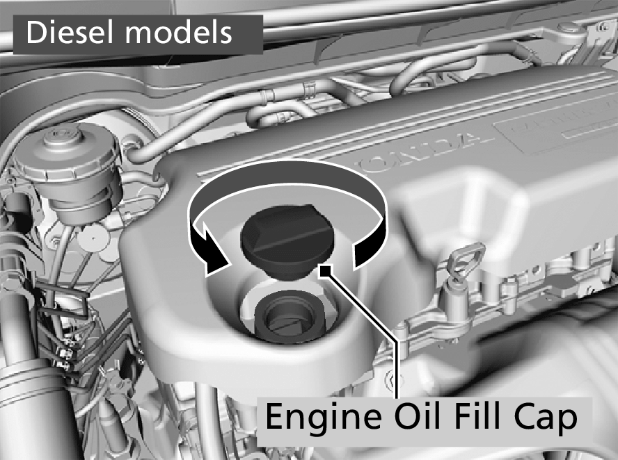 Adding Engine Oil Jazz 2016 Honda